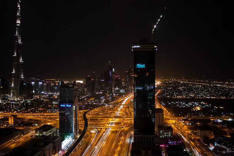 Dubai-At-Night