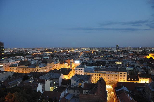 Zagreb at Dusk