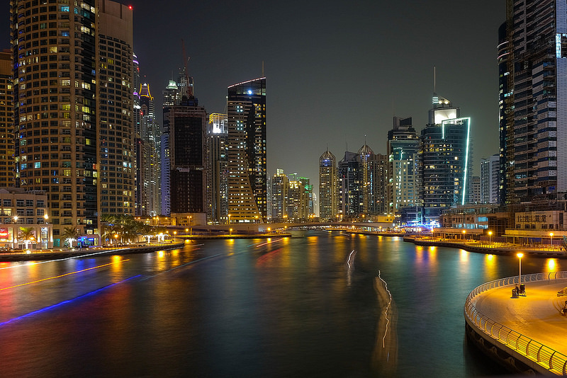 Dubai-Marina-Lights